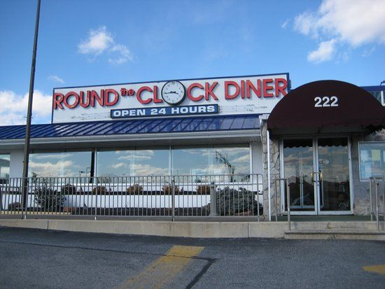 Round the Clock Diner went Against Gov. Wolf's Order and Opened for Dine-In Service