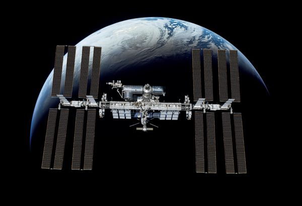 International Space Station Visible to the Naked Eye this week.