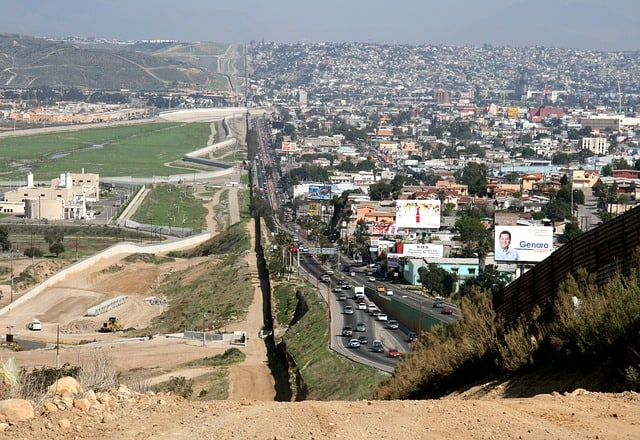 us Mexico boarder