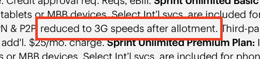 data slows after unlimited plan limit excerpt