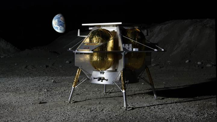 Photo of americas new lunar lander, from Pennsylvania
